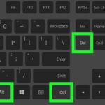 Ctrl Alt Del — для чего нужна эта комбинация клавиш в Windows