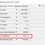 Как узнать температуру процессора в Windows